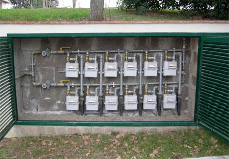 Gpl a contatore comodo e conveniente bonacchi gas for Armadio contatore gas